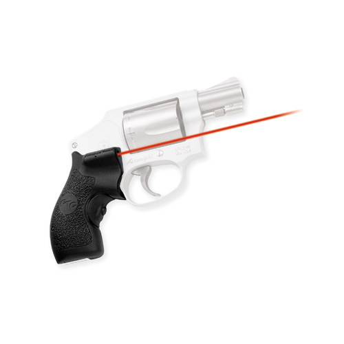 Crimson Trace Crimson Trace Smith and Wesson J Frame Round Butt-Polymer Grip, Overmold, Front Activation LG-105