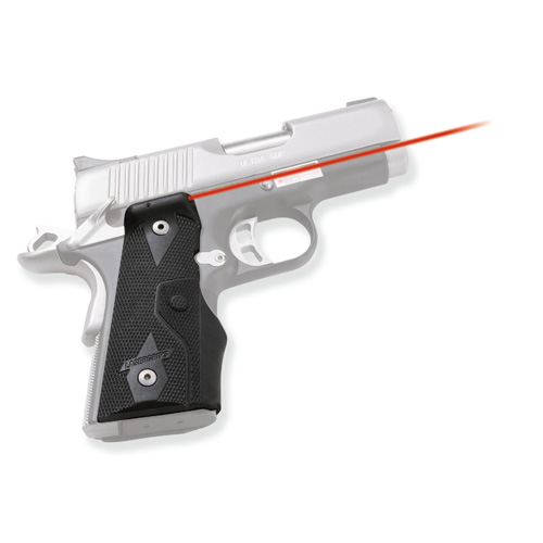 Crimson Trace Crimson Trace 1911 Officer's/Compact/Defender Overmold Wrap Dual Side Activation LG-304