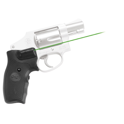 Crimson Trace Crimson Trace Smith and Wesson J-Frame Round Butt -Lasergrips- Green LG-305G