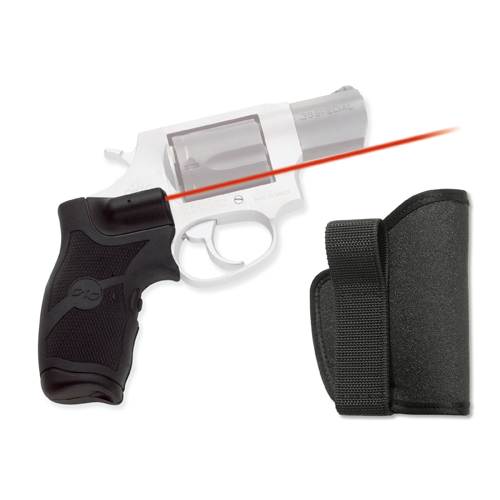 Crimson Trace Crimson Trace Taurus Small Frame Overmold, Front Activatioin, w/Holster LG-385H