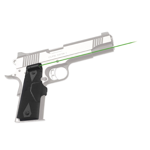 Crimson Trace Crimson Trace 1911 Government/Commander Lasergrips-Green LG-401G