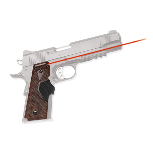 Crimson Trace Crimson Trace 1911 Government/Commander Pro, Front Activation, Walnut LG-401 P16