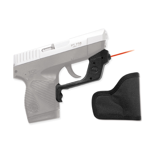Crimson Trace Crimson Trace Taurus TCP, Polymer Laserguard Overmold, Front Activation, w/Holster LG-407H
