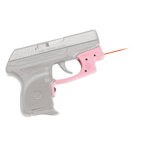 Crimson Trace Crimson Trace Ruger LCP Laserguard, Front Activation, Pink LG-431-S-PINK