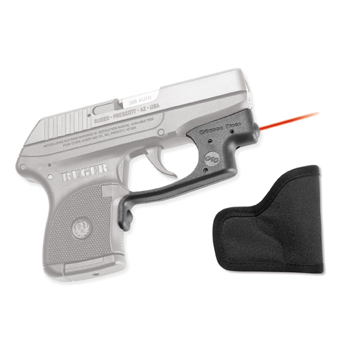 Crimson Trace Crimson Trace Ruger LCP Polymer Laserguard, Overmold Front Activation, Includes Holster LG-431H