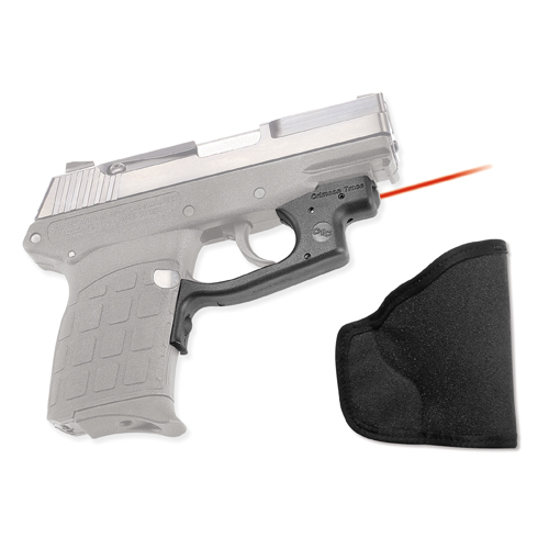 Crimson Trace Crimson Trace Keltec PF9 Polymer Laserguard, Overmold Front Activation, Includes Holster LG-435H