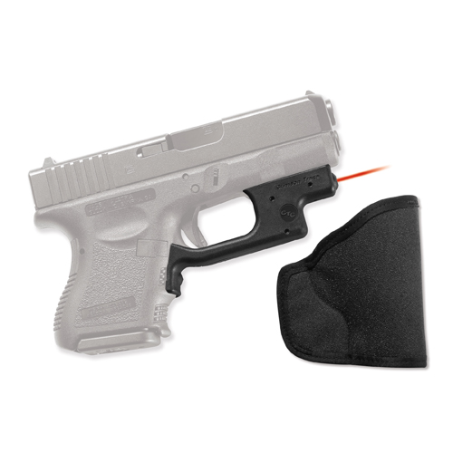 Crimson Trace Crimson Trace Glock 19 - 36 - Polymer Overmold Front Activation, w/Holster LG-436H