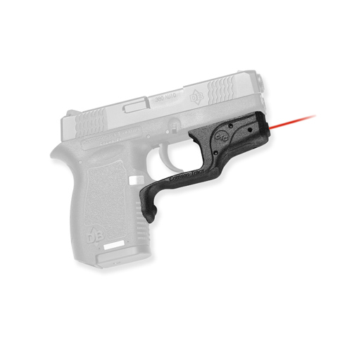 Crimson Trace Diamond DB380/DB9 Pro Laser, Overmold, Front Activation Laser Grips Only