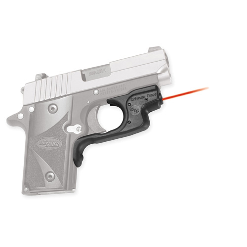 Crimson Trace Crimson Trace Sig Sauer P238 LaserGuard, Polymer, Overmold, Front Activation LG-492
