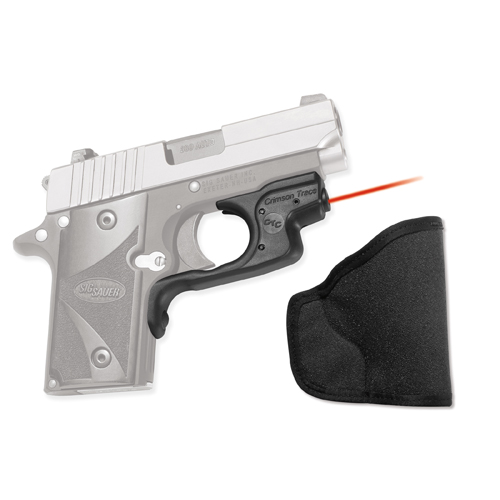 Crimson Trace Crimson Trace Sig Sauer P238 LaserGuard, Polymer, Overmold, Front Activation LG-492H