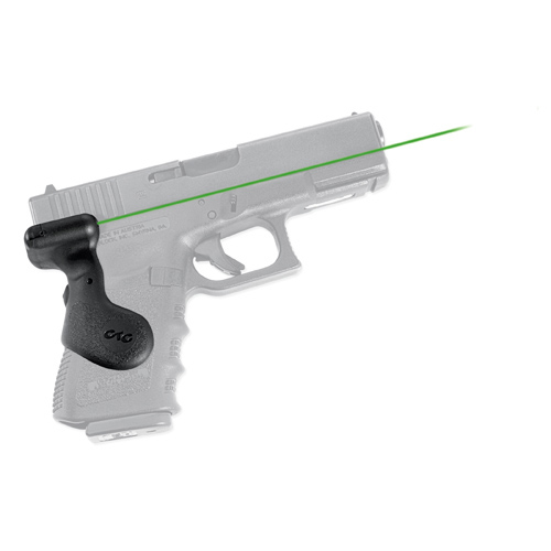 Crimson Trace Crimson Trace Glock 19, Lasergrips, Rear Activation-Green LG-619G