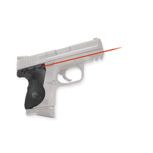 Crimson Trace Crimson Trace Smith and Wesson M&P, Compact Polymer Overmold, Rear Activation LG-661