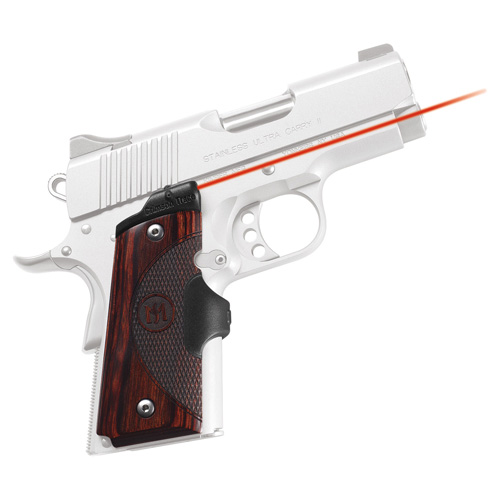 Crimson Trace Crimson Trace 1911 Officer's/Compact/Defender Master Series, Rosewood LG-902