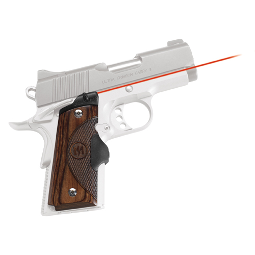 Crimson Trace Crimson Trace 1911 Government/Commander Walnut LaserGrip, Front Activation LG-908