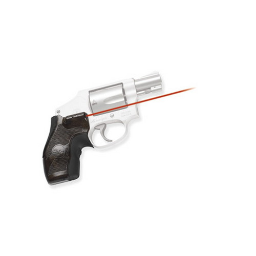 Crimson Trace Crimson Trace Smith and Wesson J Frame Round Butt, Chestnut, Overmold, Front Activation LG-405 P20