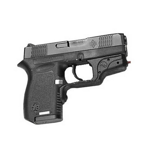Crimson Trace Diamond DB380/DB9 Pro Laser, Overmold, Front Activation Laser Grips w/Holster, Sleeved LG-491H-S