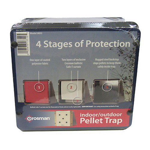 Crosman Crosman Target Trap For Pellets/BBs Steel 0852