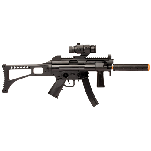 Crosman Tactical Electric Airsoft Rifle Black
