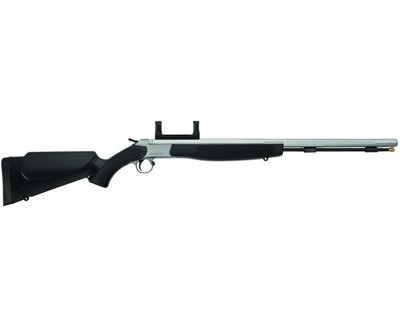 CVA Optima .50 Caliber Muzzleloader Stainless Steel/Black, Includes Scope Mount