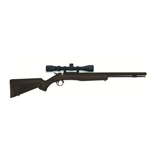 CVA Wolf .50 Caliber Muzzleloader Blued/Black, with KonuShot 3-9x32mm Scope PR2110SC