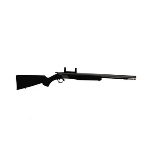 CVA Wolf .50 Caliber Muzzleloader Stainless Steel/Black, ISM