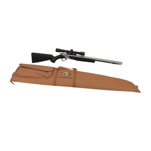 CVA Wolf .50 Caliber Muzzleloader Stainless Steel/Black w/KonuShot Scope