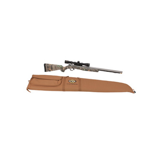 CVA CVA Wolf .50 Caliber Muzzleloader Stainless Steel/Camo ISM w/KonuShot Scope PR2112SSC