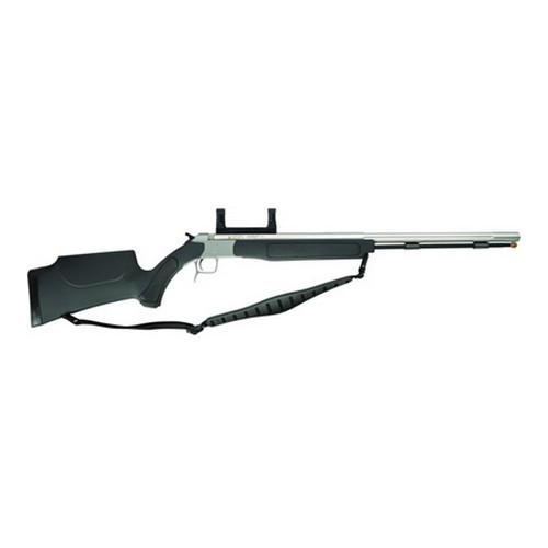 CVA Accura V2 .50 Caliber Muzzleloader Stainless Steel/Black, Includes Scope Mount PR3110SM