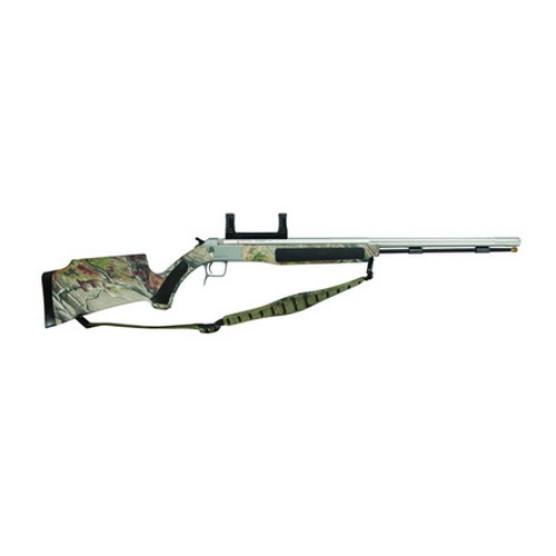 CVA Accura V2 .50 Caliber Muzzleloader Stainless Steel/Realtree APG HD Camo, Includes Scope Mount