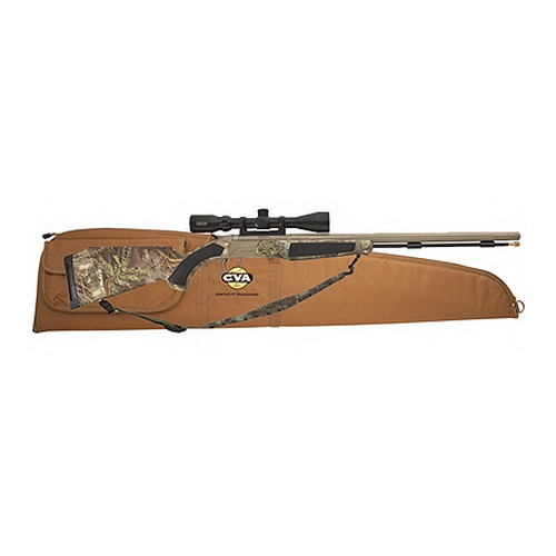 CVA Accura MR Stainless Steel/Realtree Max 1 HD Camo 50Cal 3-9x40