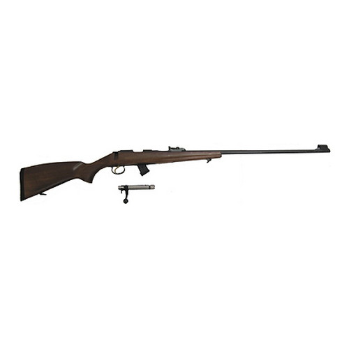 CZ USA CZ 452 Rifle 22 Long Rifle Ultra Lux, Beech, 28