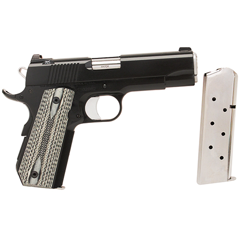 CZ USA Pistol CZ USA Dan Wesson Series Valor Bobtail Commander, 45 ACP, Black 01983