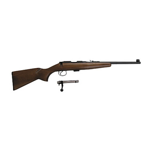 CZ USA CZ 452 Rifle CZ452 Scout .22 Long Rifle Single Shot Beechwood 02050
