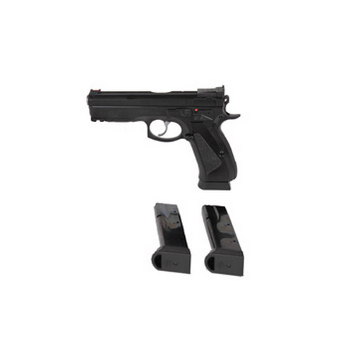 CZ USA Pistol CZ USA 75 SP-01 Shadow Target 9mm Luger Black 18 Round 91159
