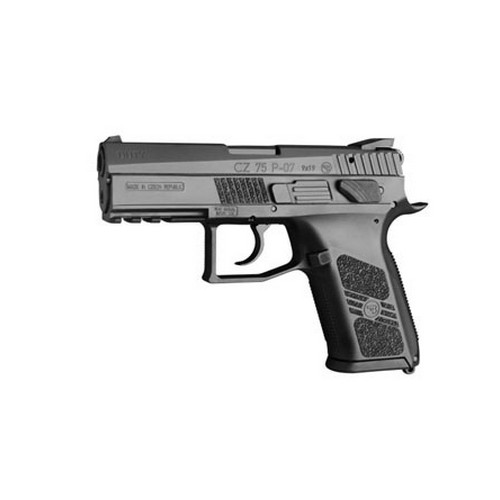 CZ USA CZ P07 DUTY 9mm Poly, Black 16Rnd