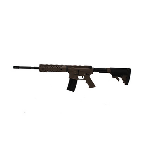 Diamondback Firearms Rifle Diamondback Firearms 223/5.56 4 Rail Free Float No Sights Flat Dark Earth DB15FDE