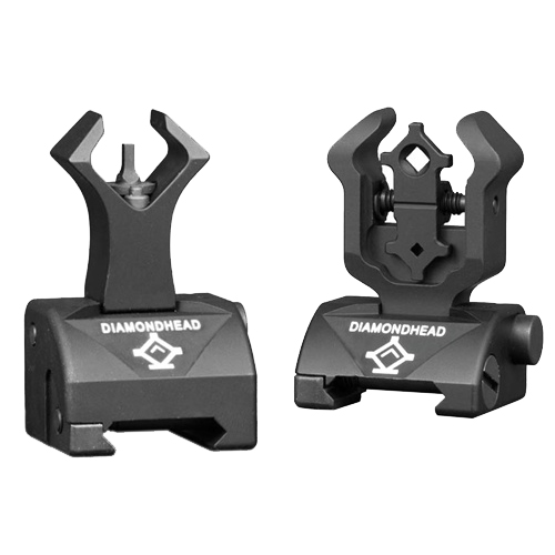 Diamondhead Diamondhead Diamond Sight Rear and Gas Block AR15 Front 1599