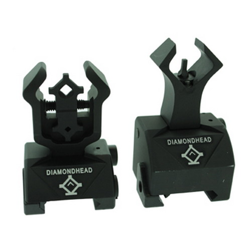 Diamondhead Diamondhead Diamond Sight Rear and Gas Block AR10 Front 1699