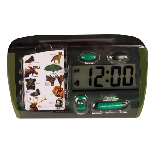 Extreme Dimension Wildlife Extreme Dimension Wildlife Sportsman's Alarm Clock - Animal Sound ED-AC