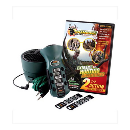 Extreme Dimension Wildlife Extreme Dimension Wildlife Mini Predator Crow, Turkey, Speaker & DVD Combo ED-MP-624