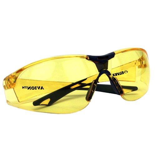 Elvex Elvex Avion Safety Glasses Amber R-SG-18A