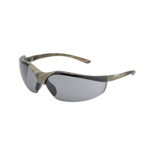 Elvex Acer Shooting Glasses, BallVo Grey HC/PC Lens, Green Forest Camo