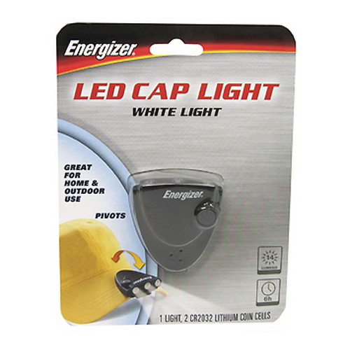 Energizer 3-LED Cap Light - 14 Lumens