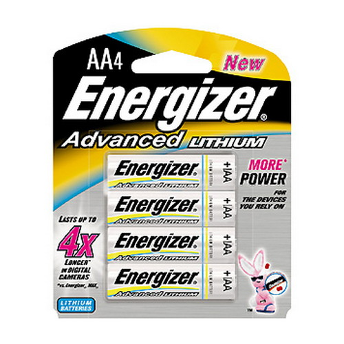 Energizer Energizer Advanced Lithium Batteries AA (Per 4) EA91BP-4