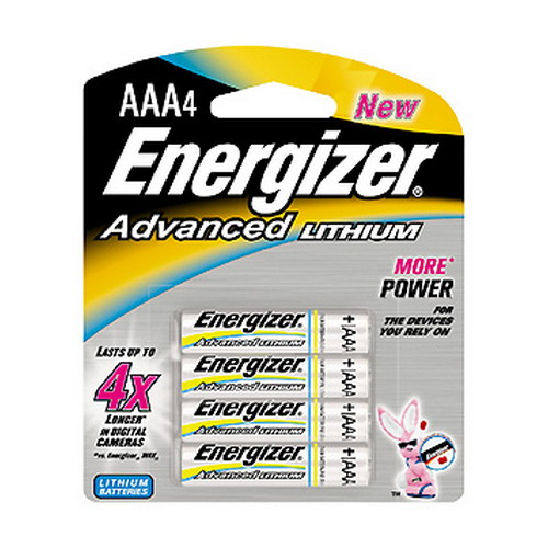 Energizer Energizer Advanced Lithium Batteries AAA (Per 4) EA92BP-4