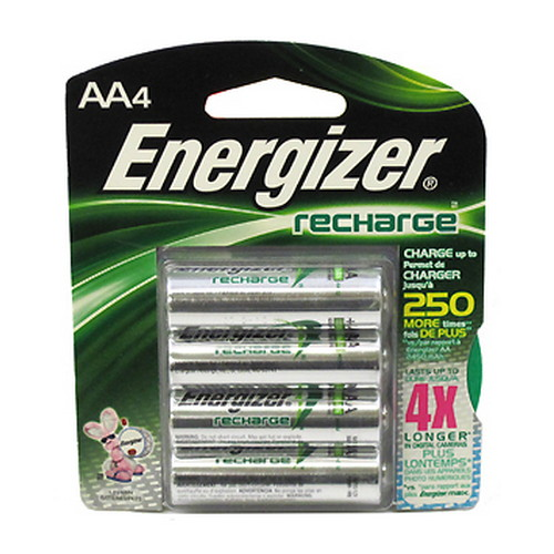 Energizer Energizer Rechargeable Batteries NiMH AA (Per 4) NH15BP-4