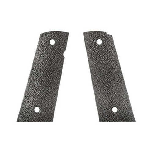 Ergo XTR 1911 Grip Hard Rubber Square Bottom, Black