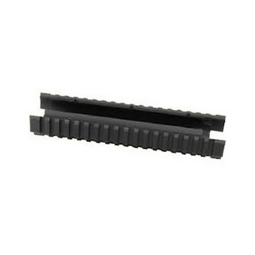 Ergo Mossberg 500/590 Forend w/ LP Covers, Black Standard