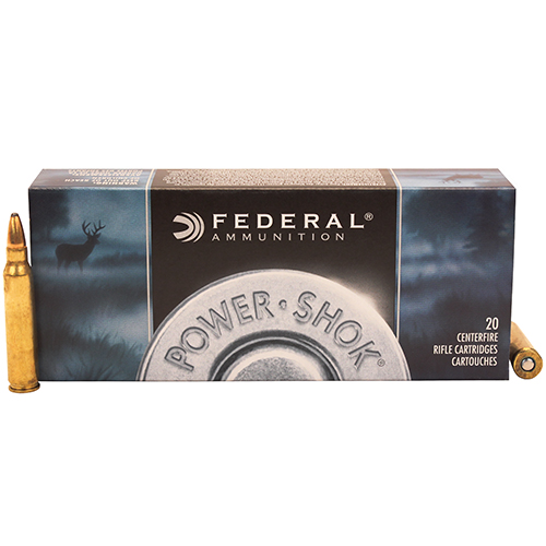 Federal Cartridge Federal Cartridge 223 Remington 223 Remington Classic 55gr Power Shok Soft Point (Per 20) 223A