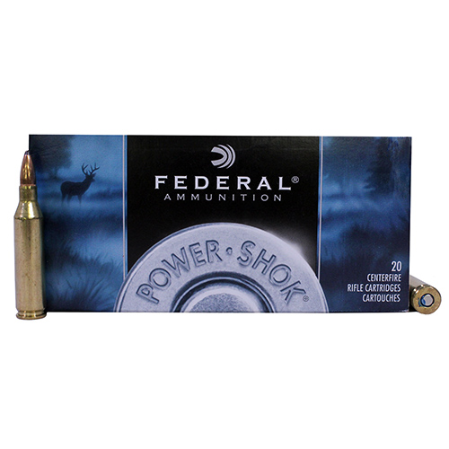 Federal Cartridge Federal Cartridge 243 Winchester 243 Win, 80gr, Speer Hot-Cor Soft Point, (Per 20) 243AS